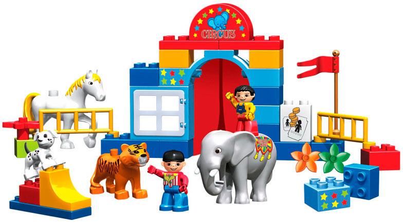 Конструктор Circus Show 39 деталей