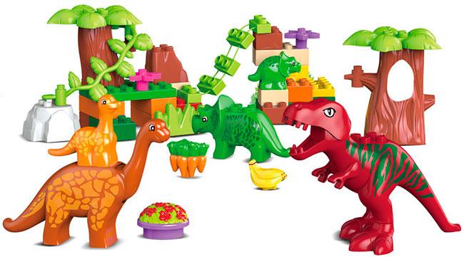 Конструктор Dino Paradise 40 деталей
