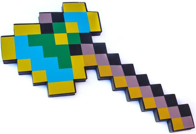 Зачарованный топор из Майнкрафт - продаем по оптоаым ценам